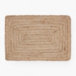 PACK DE 4 SETS DE TABLE EN JUTE 35x50 CM