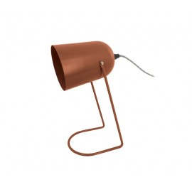 LAMPE DE TABLE EN FER MARRON