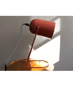 LAMPE DE TABLE EN FER MARRON