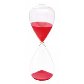 SABLIER EN VERRE ROSE 60 MINUTES