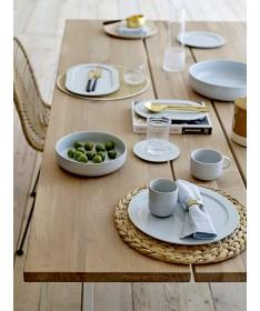LOT DE 4 SETS DE TABLE RONDS EN CANNAGE