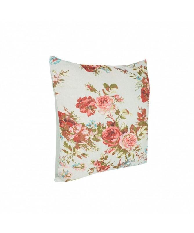 housse de coussin motifs floraux 50x50 cm. Black Bedroom Furniture Sets. Home Design Ideas